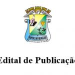 Edital de Publicação 005/2019