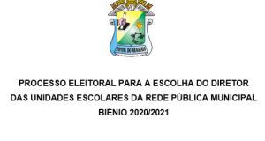 Edital nº 004/2019 – Homologação das Inscrições
