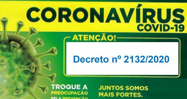 Prorroga por mais 15 dias o prazo do Decreto nº 2124/2020