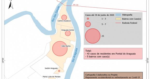 Mapeamento do Covid-19 em Pontal do Araguaia
